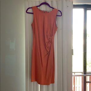 Kenneth Cole peach work dress